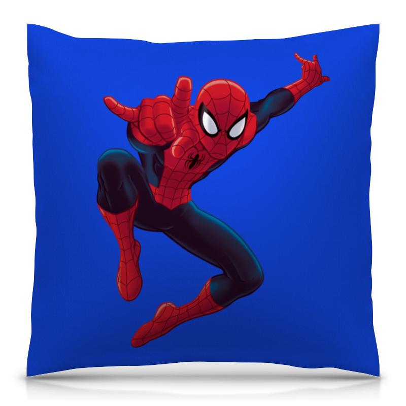 Подушка 40х40 с полной запечаткой Printio Человек-паук подушка 40х40 с полной запечаткой printio железный человек