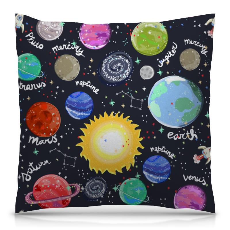 Printio Планеты подушка printio осьминог и планеты