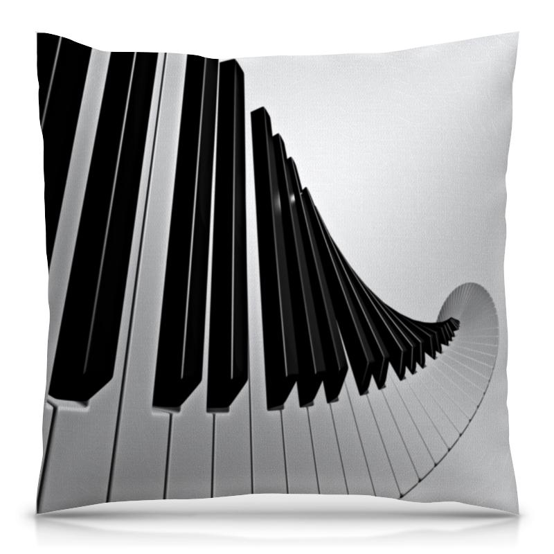 Подушка 40х40 с полной запечаткой Printio Музыка