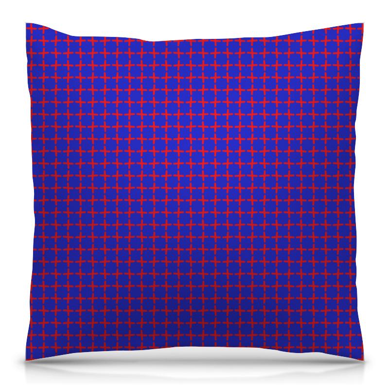 Подушка 40х40 с полной запечаткой Printio Крестики подушка 40х40 с полной запечаткой printio синева