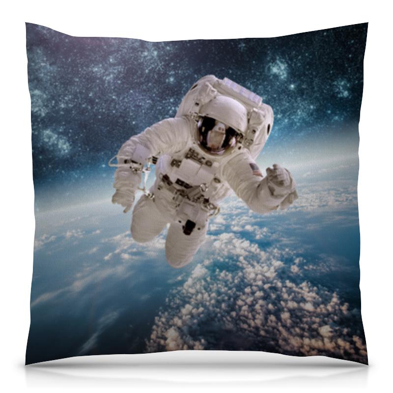 Подушка 40х40 с полной запечаткой Printio Космические сны наш дом