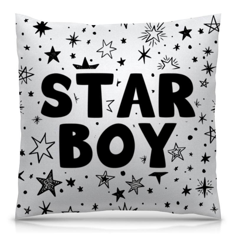 все цены на Подушка 40х40 с полной запечаткой Printio Starboy (weeknd)