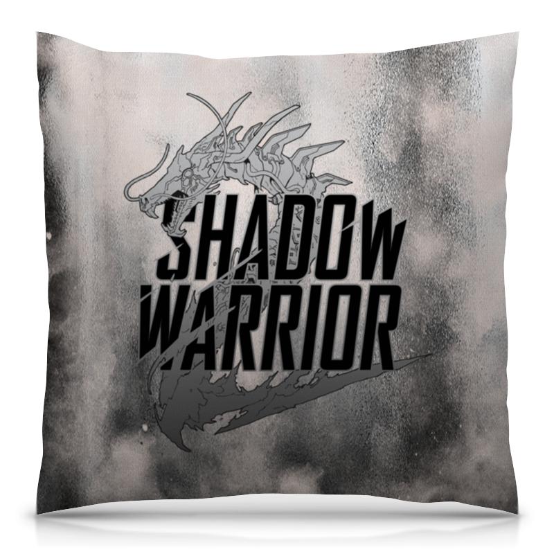 Подушка 40х40 с полной запечаткой Printio Shadow warrior shadowwarrior[xboxone]