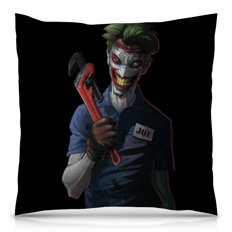 Printio Джокер подушка 40х40 с полной запечаткой printio джокер joker