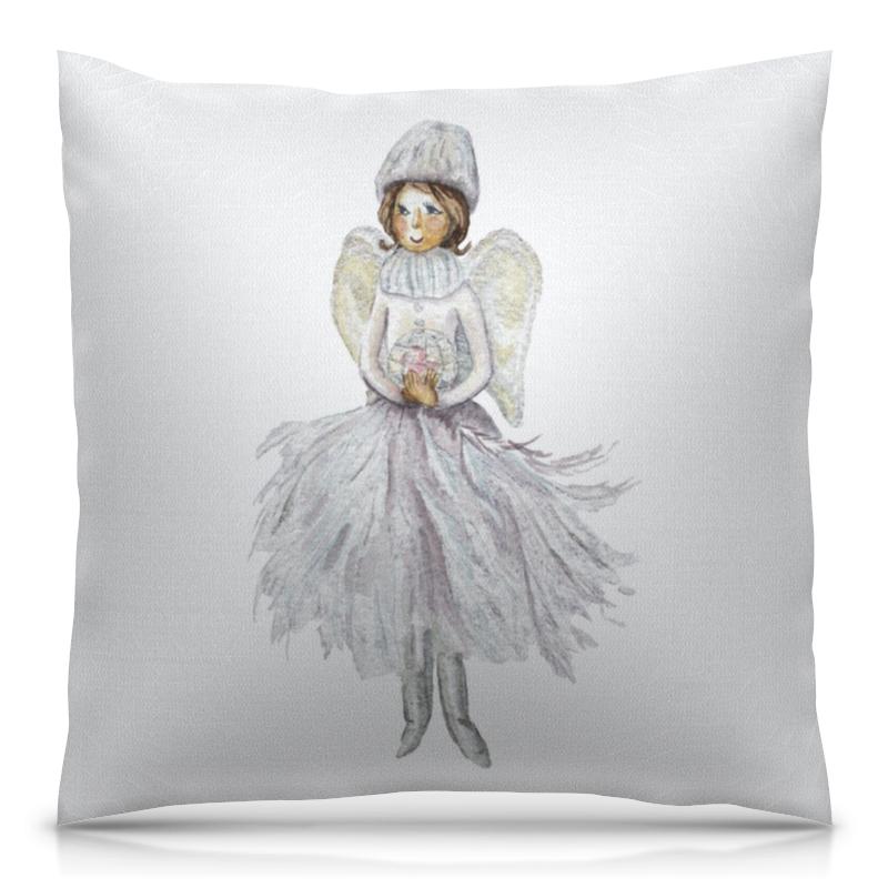 Подушка 40х40 с полной запечаткой Printio Снежный ангел