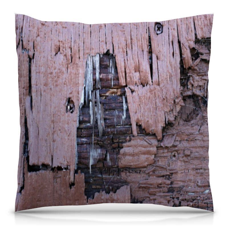 Подушка 40х40 с полной запечаткой Printio деревянная дорожка садовая деревянная 40х40 см орегон