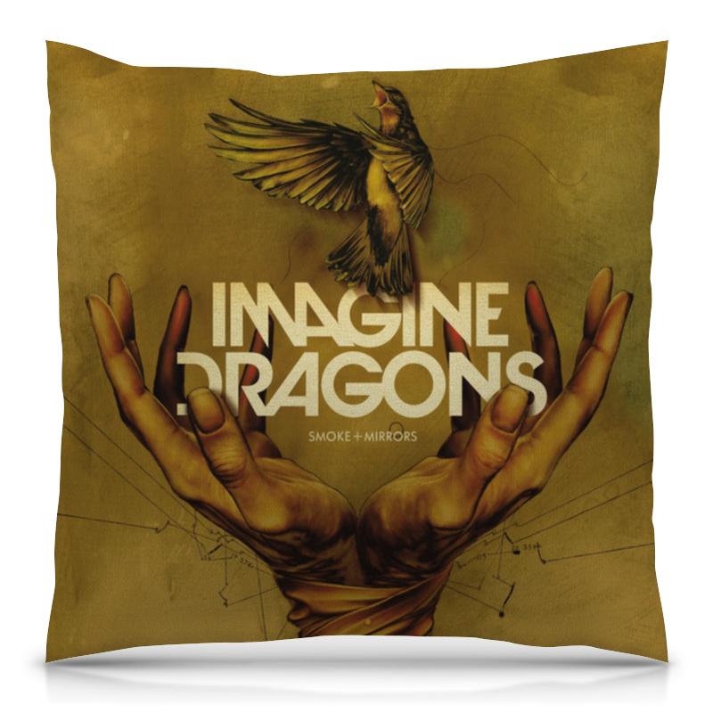 Подушка 40х40 с полной запечаткой Printio Imagine dragons dragons фигурка toothless сидящий