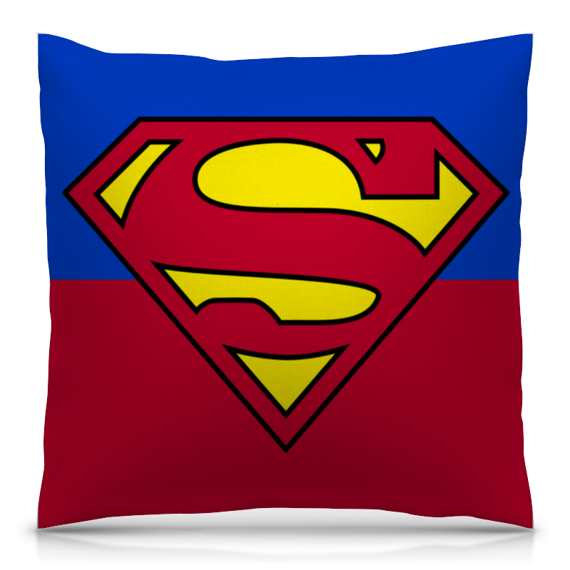 Подушка 40х40 с полной запечаткой Printio Супермен подушка 40х40 с полной запечаткой printio свет и тепло