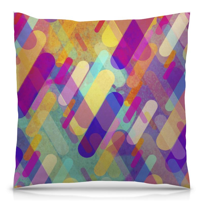 Подушка 40х40 с полной запечаткой Printio Разноцветная абстракция сумка с полной запечаткой printio разноцветная абстракция