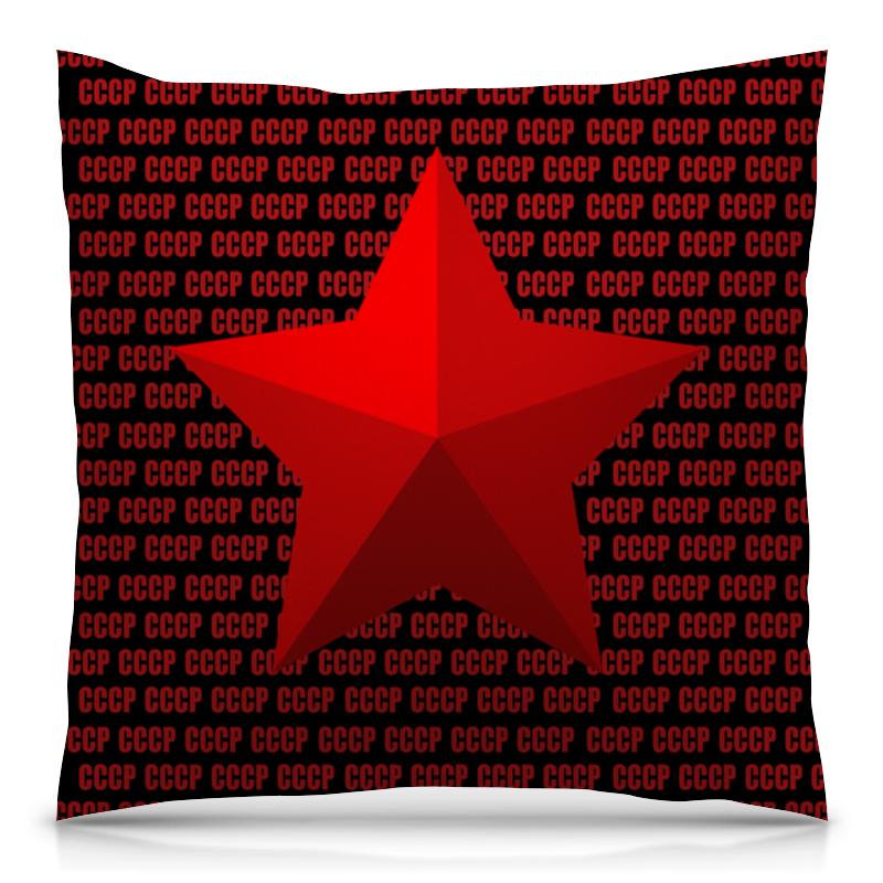 Подушка 40х40 с полной запечаткой Printio Звезда ссср свитшот унисекс с полной запечаткой printio звезда ссср