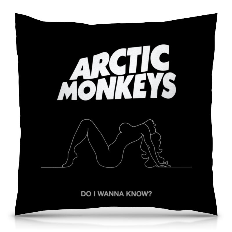 Подушка 40х40 с полной запечаткой Printio Arctic monkeys