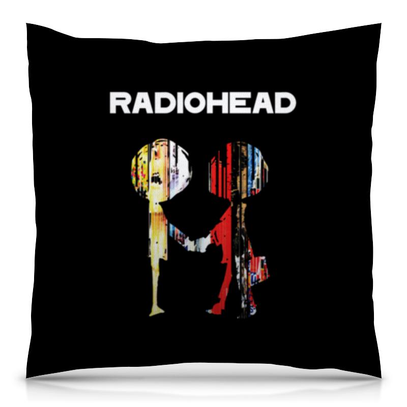 Подушка 40х40 с полной запечаткой Printio Radiohead cd из японии radiohead