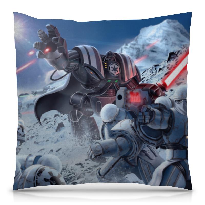 Подушка 40х40 с полной запечаткой Printio Звёздные войны (star wars)