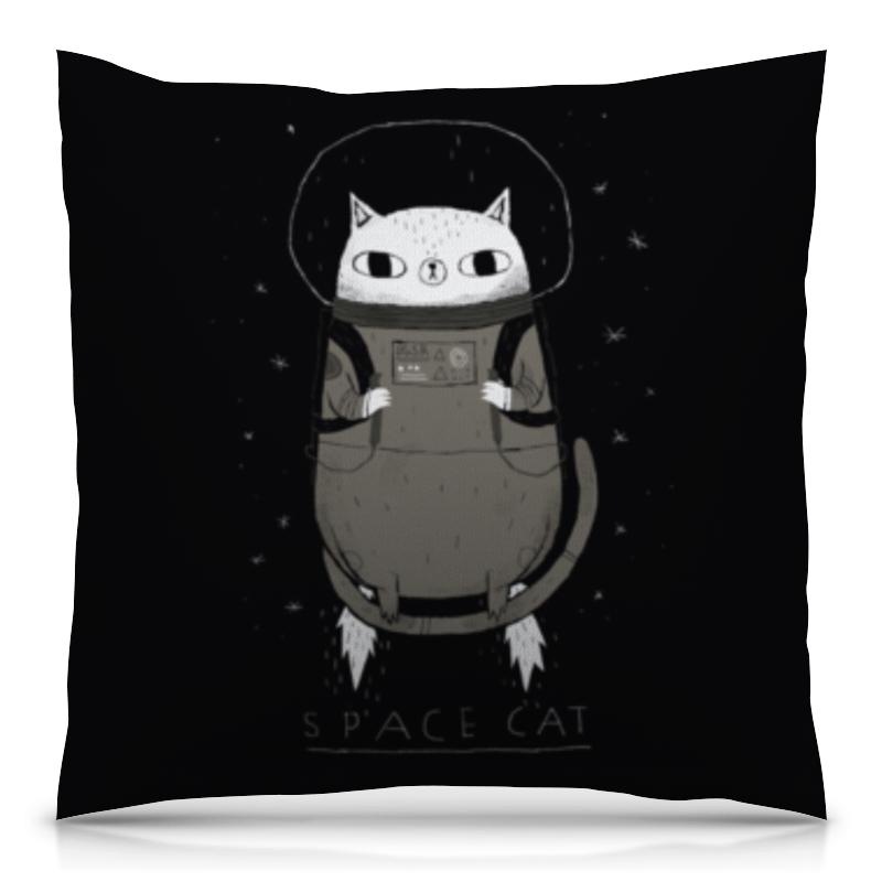 Подушка 40х40 с полной запечаткой Printio Space cat сумка с полной запечаткой printio space cat