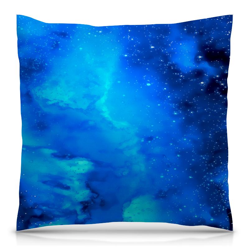 Подушка 40х40 с полной запечаткой Printio Звездное небо брюки котмаркот штанишки звездное небо