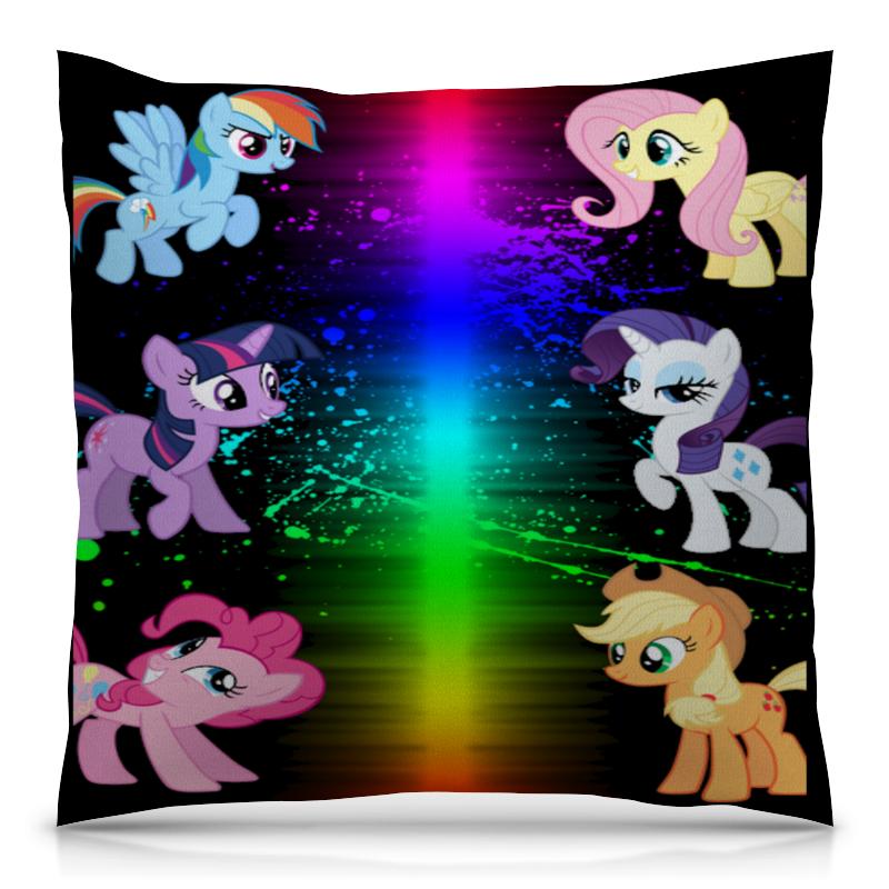 Printio Пони-pony подушка 40х40 с полной запечаткой printio пони