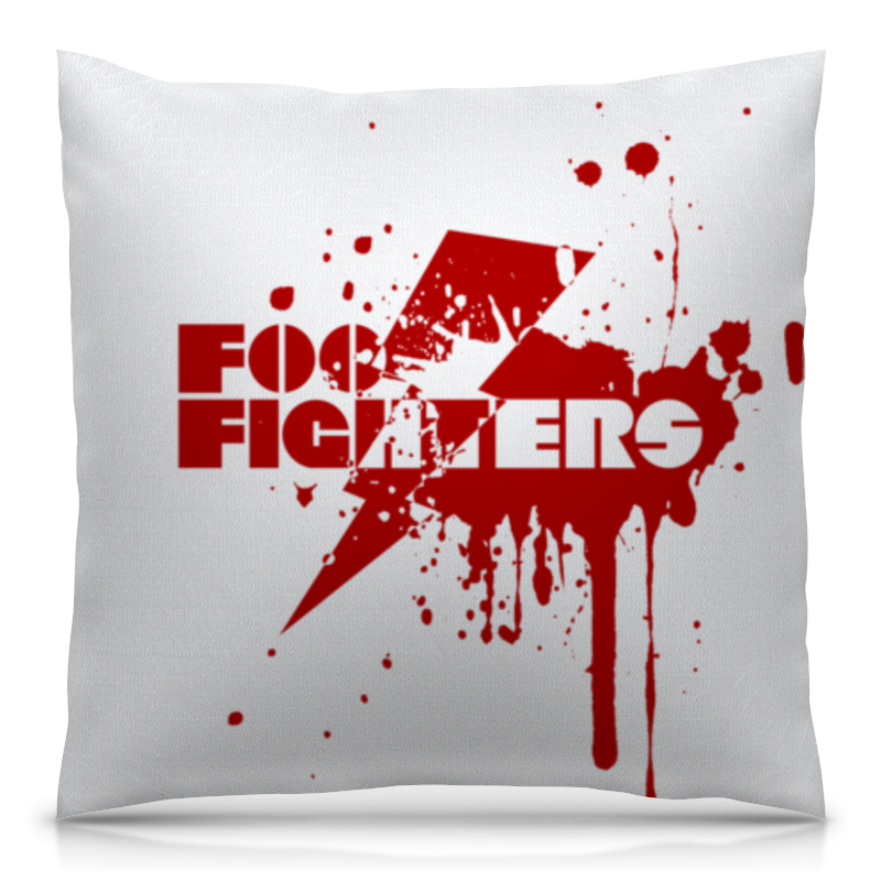 Подушка 40х40 с полной запечаткой Printio Foo fighters футболка с полной запечаткой мужская printio foo fighters