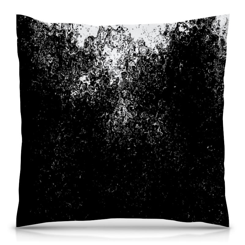 Подушка 40х40 с полной запечаткой Printio Черно-белые краски подушка 60х40 с полной запечаткой printio черно белые краски