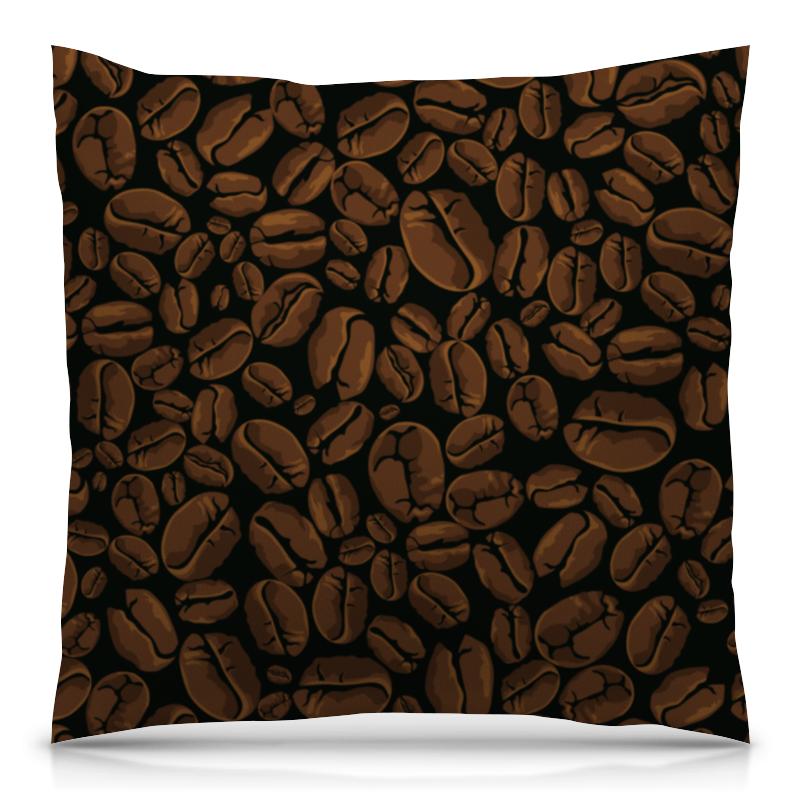 Подушка 40х40 с полной запечаткой Printio Кофейная liberator lovearts pillow кофейная подушка для любви
