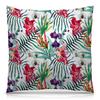 """Подушка 40х40 с полной запечаткой """"Тропические цветы"""" - милый, лето, пальма, орхидея, женственно"""