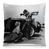 "Подушка 40х40 с полной запечаткой ""Джеймс Дин James Dean"" - стиль, ретро, кино, джеймс дин, james dean"