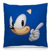 """Подушка 40х40 с полной запечаткой """"Sonic"""" - игры, мульт, соник, sonic"""