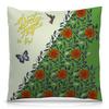 """Подушка 40х40 с полной запечаткой """"Не забывайте летать! С бабочками. Вариант №171127a"""" - vintage, to fly, butterfly, бабочки, орнамент"""