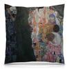 """Подушка 40х40 с полной запечаткой """"Смерть и жизнь (Густав Климт)"""" - картина, живопись, климт"""