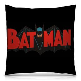 """Подушка 40х40 с полной запечаткой """"Бэтмен"""" - бетмен, бетман, бэтман, бэтмен"""