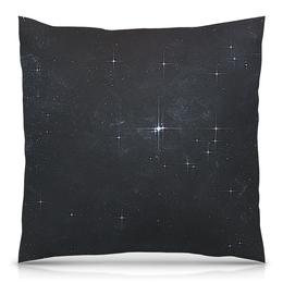 """Подушка 40х40 с полной запечаткой """"Звёзды"""" - ночь, небо, звёзды"""