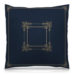 """Подушка 40х40 с полной запечаткой """"Аристократическая"""" - узор, рисунок, стильный, классический, аристократический"""