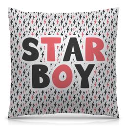 "Подушка 40х40 с полной запечаткой ""Starboy (Weeknd)"" - starboy"
