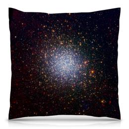 """Подушка 40х40 с полной запечаткой """"Вспышки звезд"""" - звезды, космос, небо, галактика, вспышки"""