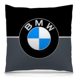 """Подушка 40х40 с полной запечаткой """"Авто BMW"""" - автомобили, машины, авто, bmw, бмв"""