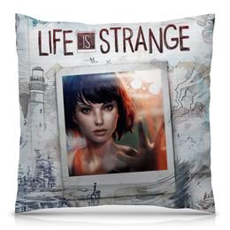 """Подушка 40х40 с полной запечаткой """"Life is Strange"""" - игра, life is strange"""