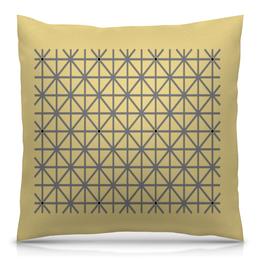 """Подушка 40х40 с полной запечаткой """"Оптическая иллюзия"""" - обман зрения, оптическая иллюзия"""