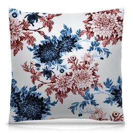"""Подушка 40х40 с полной запечаткой """"Хризантемы"""" - красиво, цветы, хризантемы"""