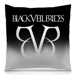 "Подушка 40х40 с полной запечаткой ""Black Veil Brides"" - black veil brides, музыка, группы, рок, метал"