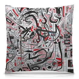 """Подушка 40х40 с полной запечаткой """"Mamewax"""" - арт, узор, абстракция, фигуры, медитация"""