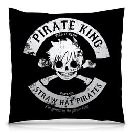 """Подушка 40х40 с полной запечаткой """"One Piece"""" - one piece, ван пис, аниме, манга, луффи соломенная шляпа"""