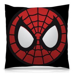 """Подушка 40х40 с полной запечаткой """"Spider-man / Человек-паук"""" - человек-паук, spider-man, мультфильм, комиксы, фильм"""