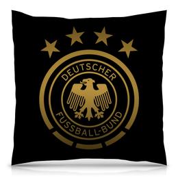 """Подушка 40х40 с полной запечаткой """" Сборная Германии"""" - сборная германии, футбол, германия, сборная германии по футболу"""