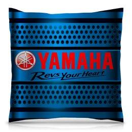 "Подушка 40х40 с полной запечаткой ""Yamaha"" - авто, автомобили, машины, yamaha, ямаха"