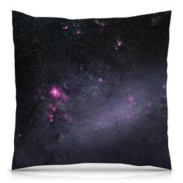 """Подушка 40х40 с полной запечаткой """"Вселенная"""" - звезды, космос, вселенная, наука, галактика"""