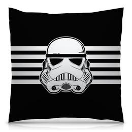"""Подушка 40х40 с полной запечаткой """"Звёздные войны"""" - фантастика, империя, звёздные войны, войска"""