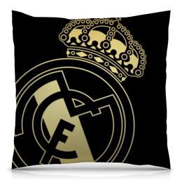 "Подушка 40х40 с полной запечаткой ""Реал Мадрид"" - футбол, real madrid, реал мадрид, футбольный клуб, реал"