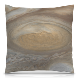 """Подушка 40х40 с полной запечаткой """"Юпитер"""" - наука, космос, вселенная, звезды, галактика"""