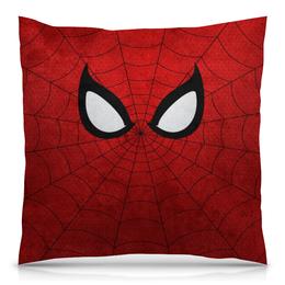 """Подушка 40х40 с полной запечаткой """"Spider Man"""" - комиксы, spider man, мстители, марвел, человек-паук"""