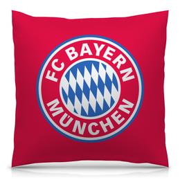 """Подушка 40х40 с полной запечаткой """"Бавария"""" - футбол, бавария, bayern"""