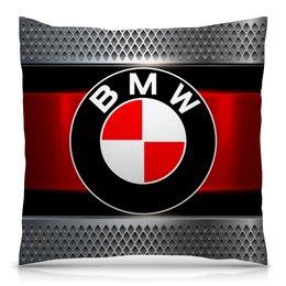 """Подушка 40х40 с полной запечаткой """"Авто BMW"""" - авто, bmw, автомобили, машины, бмв"""